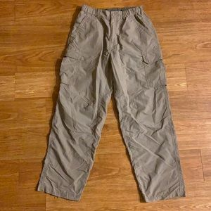 REI Mens Nylon Beige Cargo Pants Size 30L UPF+50